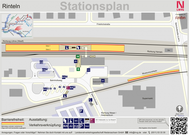 station plan